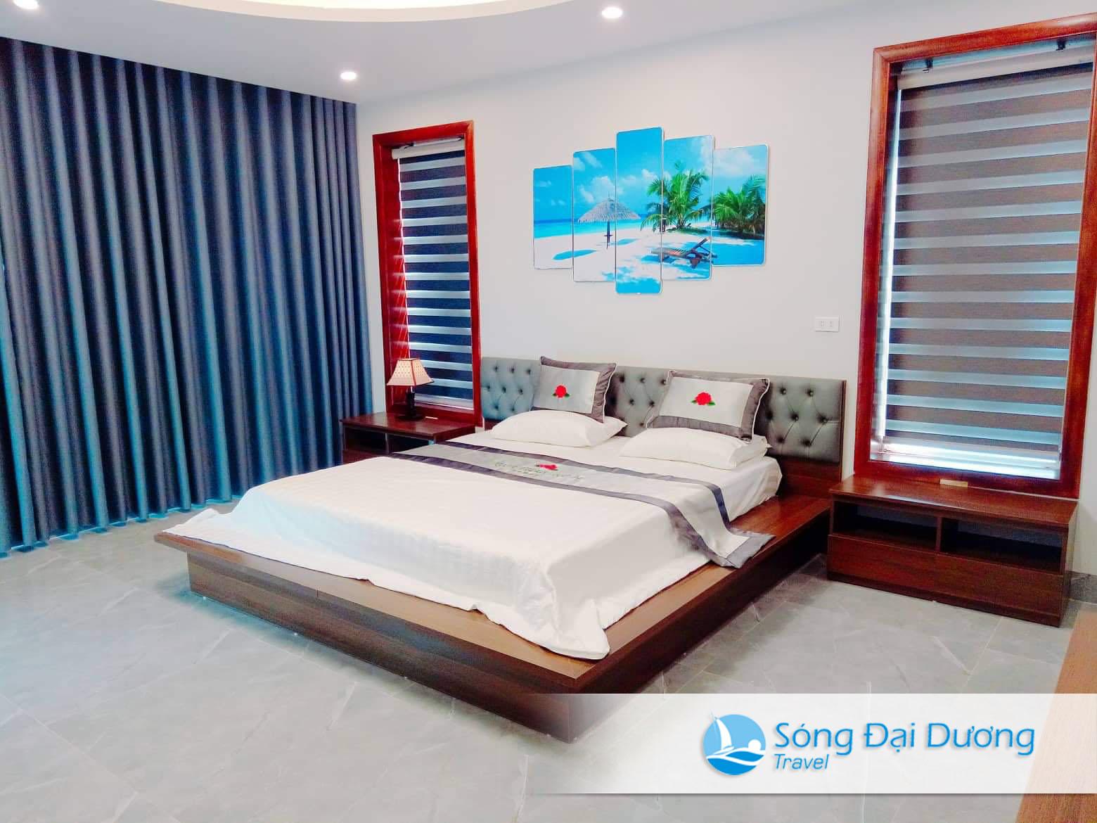 Phòng ngủ Villa NT34 sang trọng