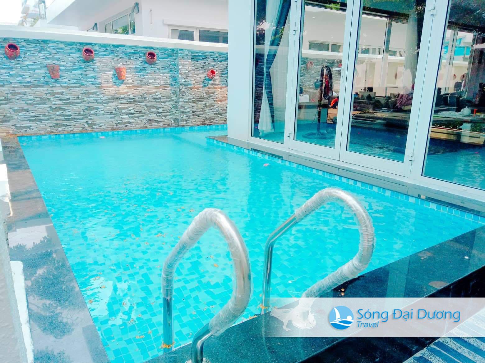 Bể Bơi riêng tại Villa