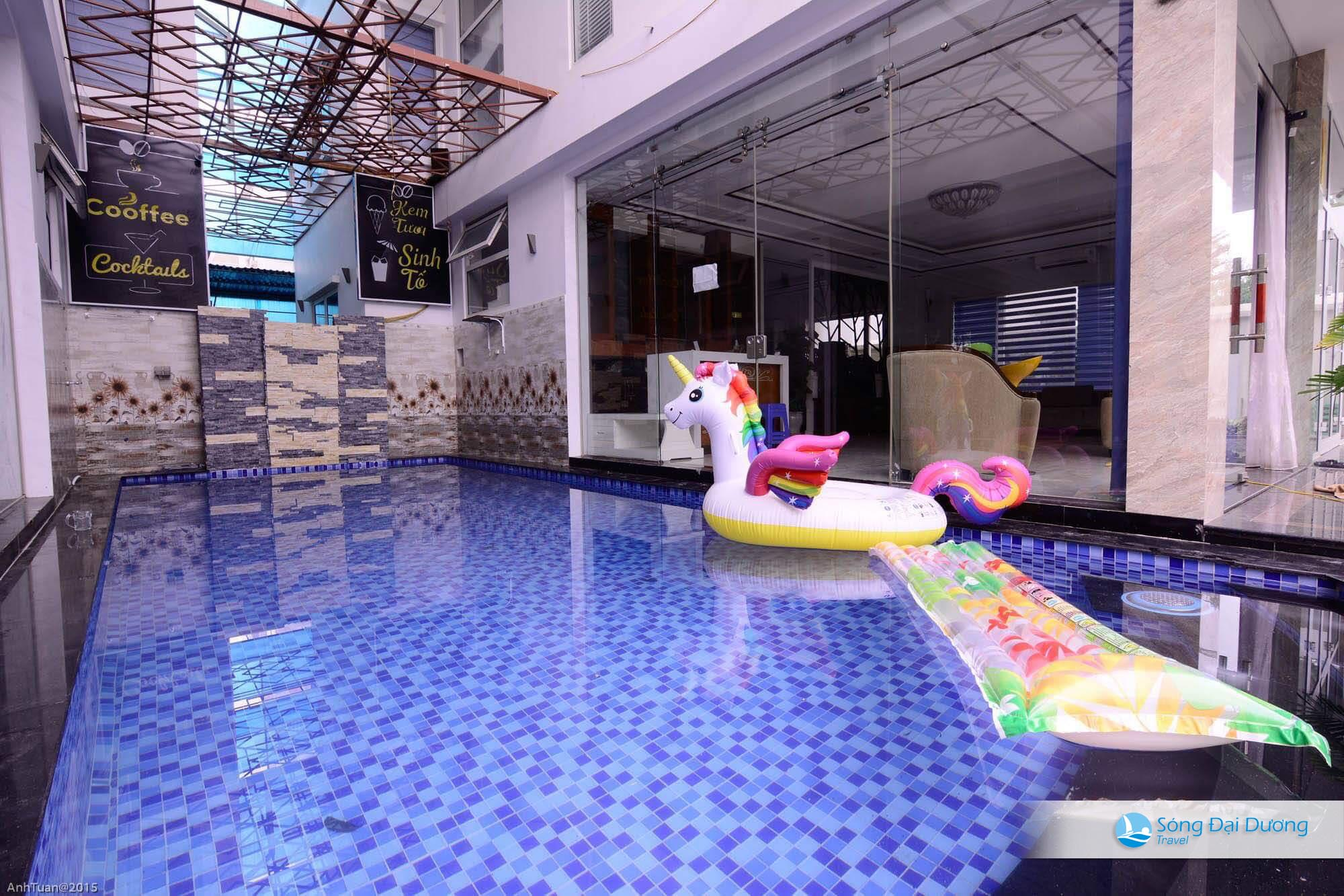 Bể bơi chung biệt Villa Sao Biển SB54-55