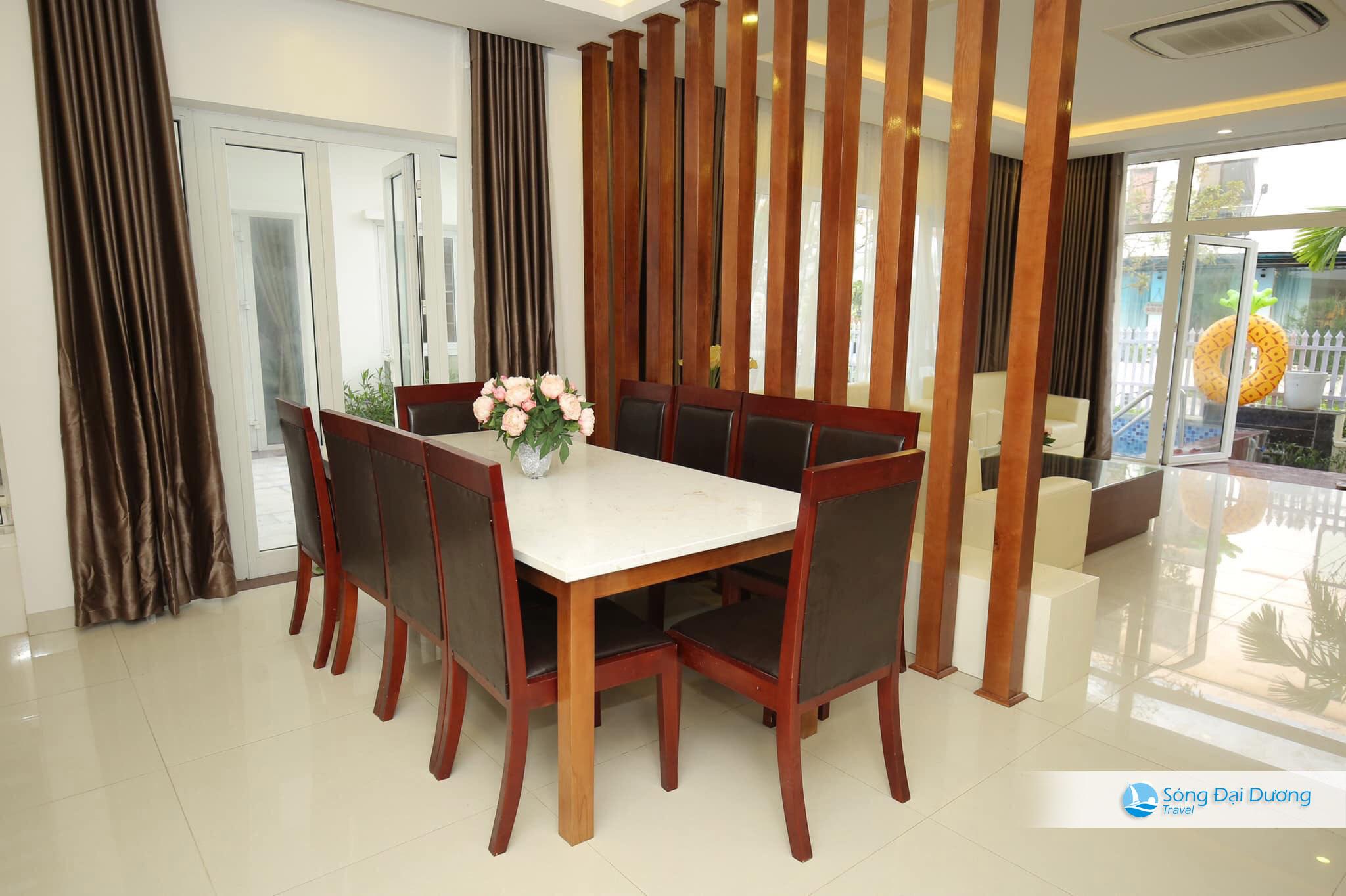 Phòng bếp Villa Ngọc Trai NT64 - NT65
