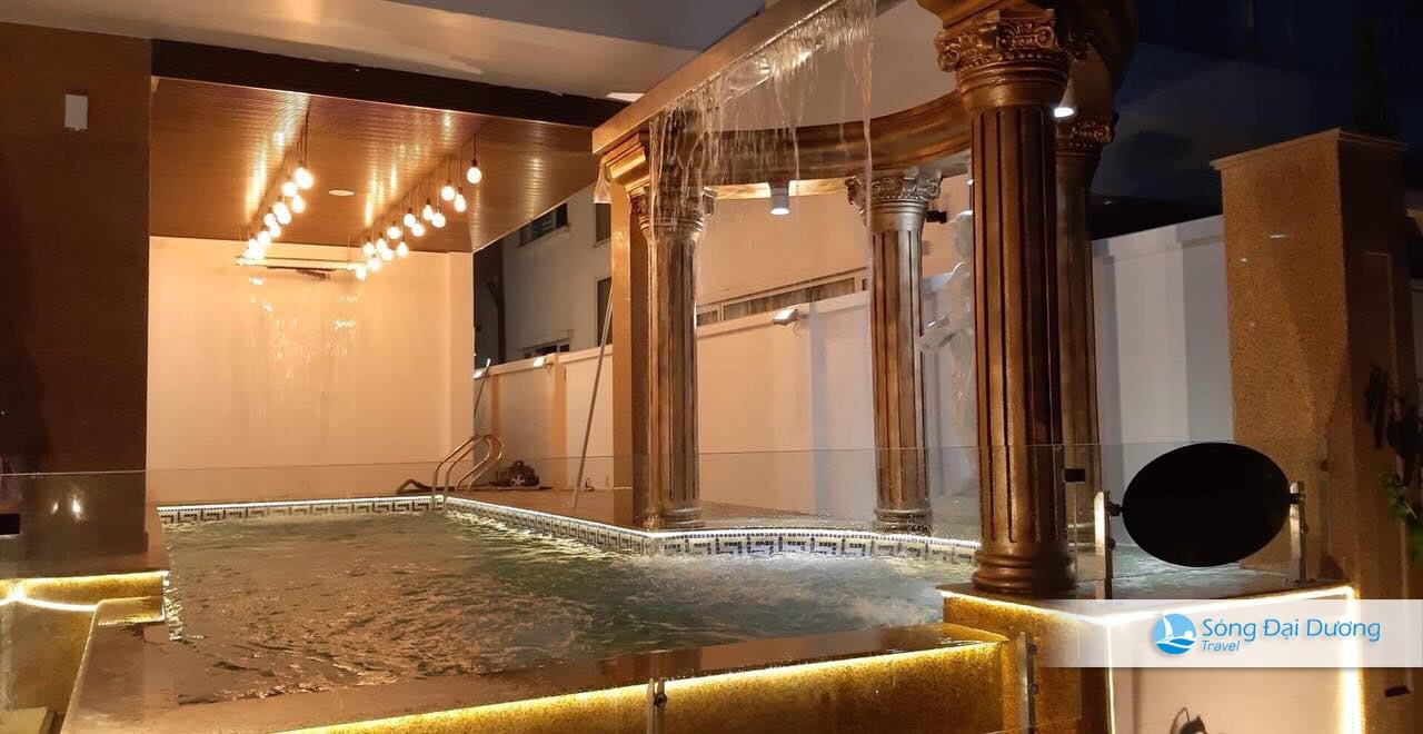 Bể bơi riêng tại Villa Ngọc Trai NT125