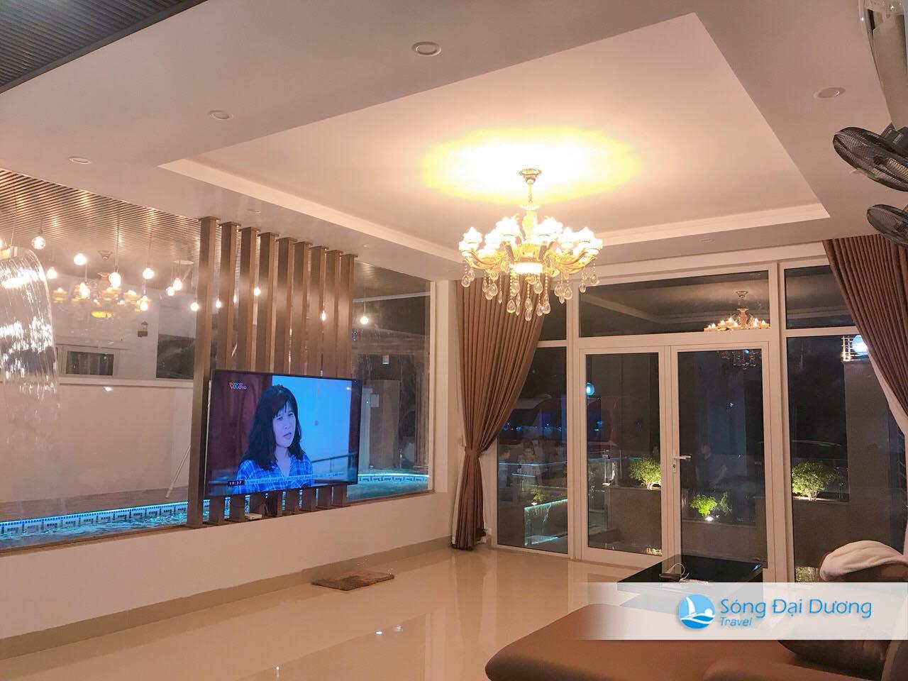 Phòng khách Ngọc Trai NT125 sang trọng mang phong cách Châu Âu