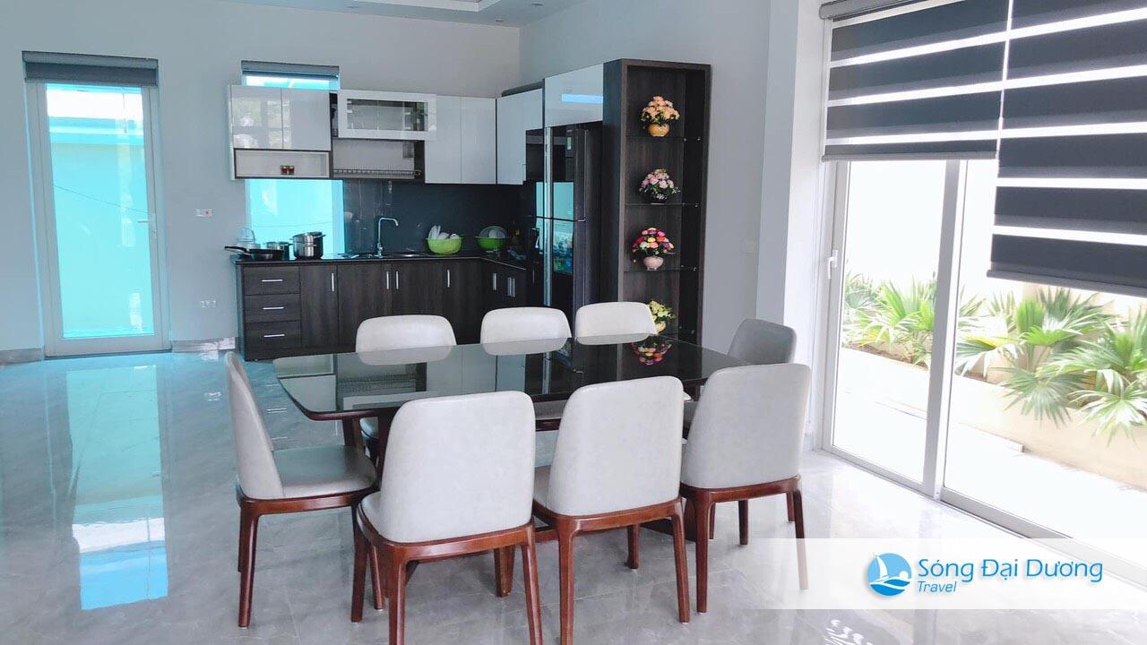 Phòng bếp Villa Sao Biển SB125 thoáng mát