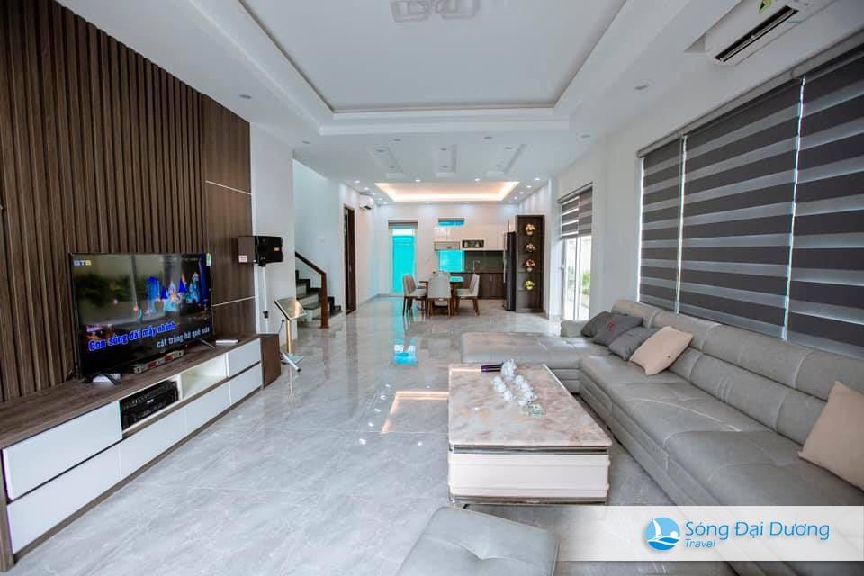 Villa SB125 có Phòng khách sang trọng