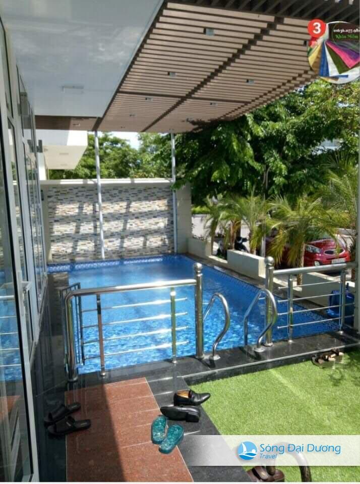 Bể bơi tại Villa Sao Biển SB72