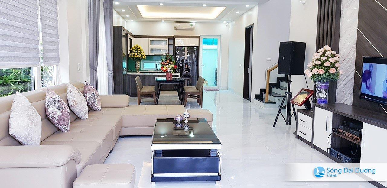 Phòng khách Villa SB72 sang trọng