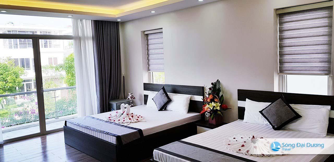 Phòng ngủ Villa SB72 phong cách 5 sao.