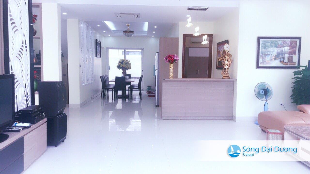 Phòng bếp Villa San Hô SH14