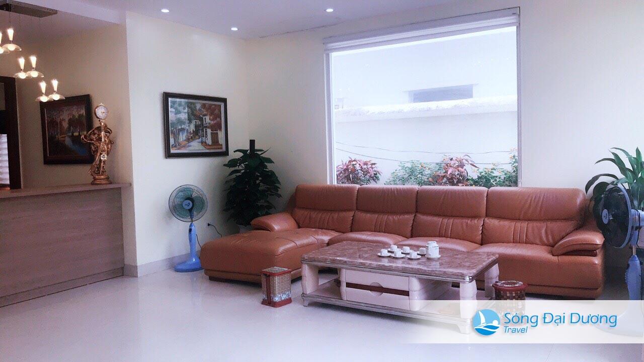 Phòng khách Villa San Hồ SH14