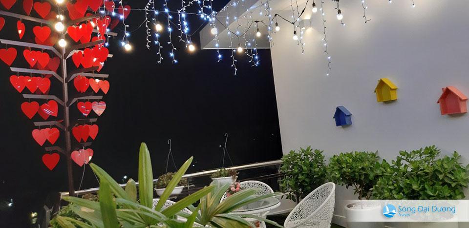 không gian tầng thượng Villa FLC Sầm Sơn - Ngọc Trai NT127