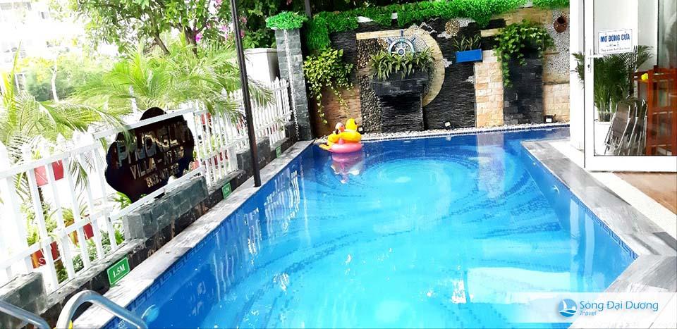 Bể bơi Villa FLC Sầm Sơn - Ngọc Trai NT127