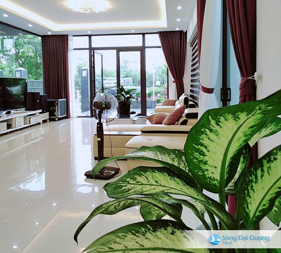 Villa FLC Sầm Sơn - Ngọc Trai NT128 - phòng khách