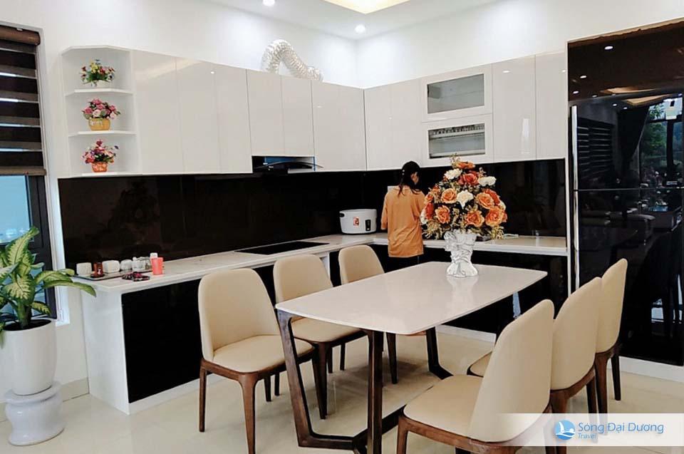 Villa FLC Sầm Sơn - Ngọc Trai NT128 - khu bếp