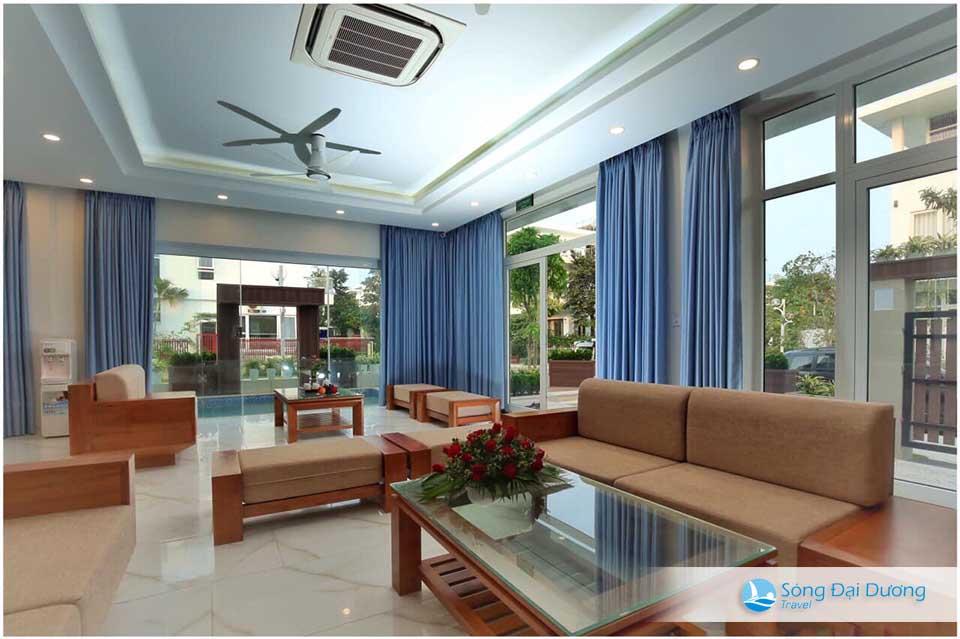 Phòng khách rộng rãi - Villa FLC Sầm Sơn Ngọc Trai NT122