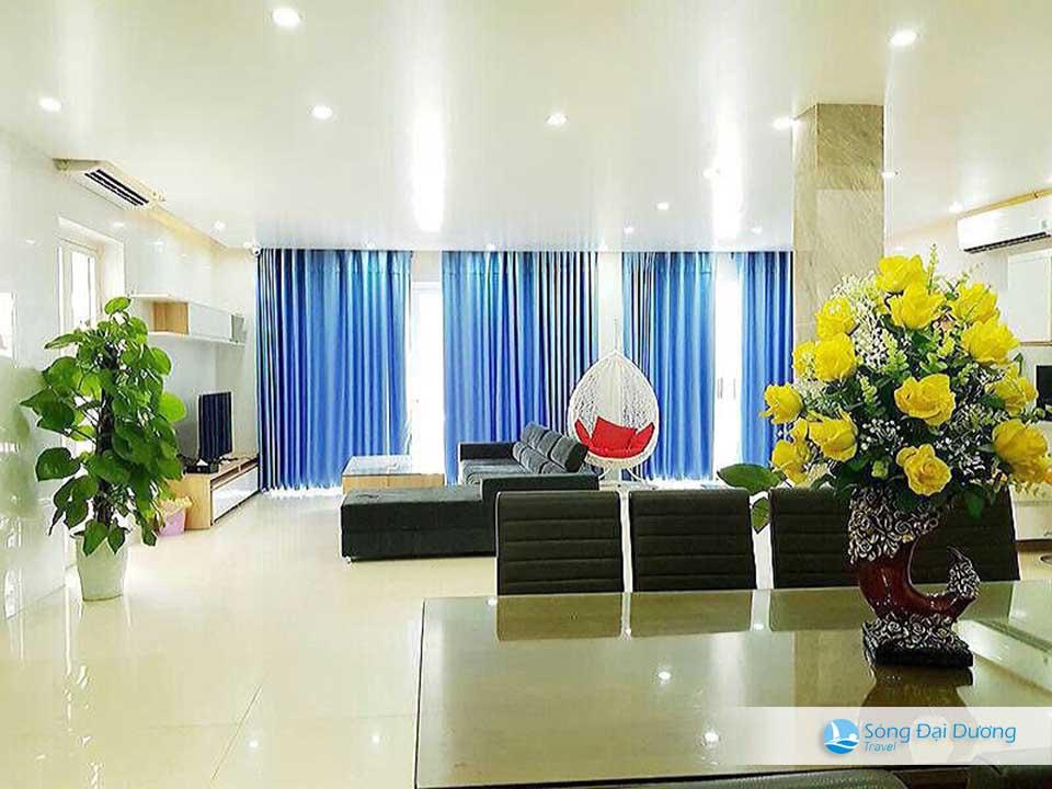Villa FLC Sầm Sơn San Hô SH05 - phòng khách rộng