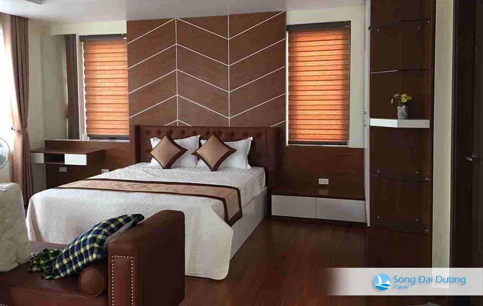 Phòng ngủ rộng mang đậm phong cách mới riêng biệt