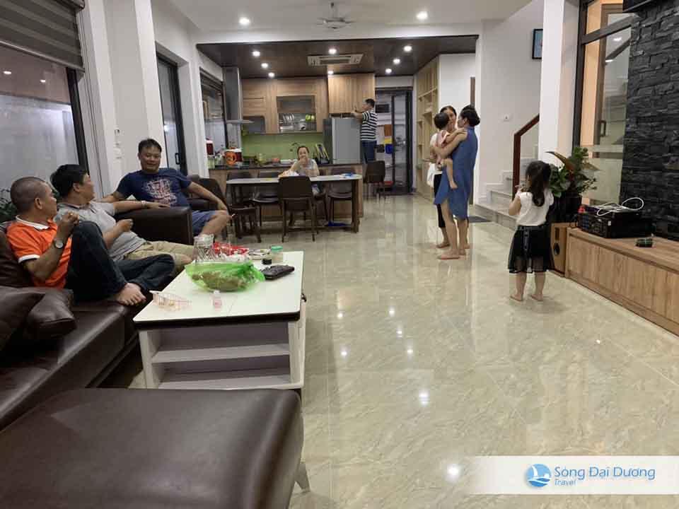 Villa FLC Sầm Sơn 7 phòng ngủ - phòng khách rộng