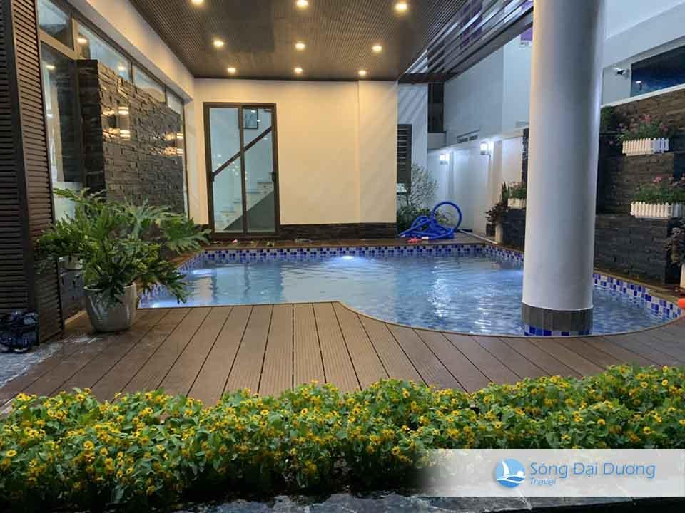 Villa FLC Sầm Sơn Sao Biển SB126 - bể bơi