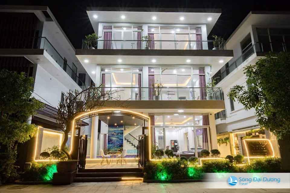 VIlla FLC Sầm Sơn 8 phòng ngủ - quang cảnh bên ngoài villa
