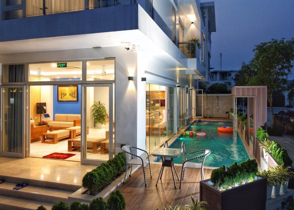 biệt thự Sao Biển FLC Sầm Sơn có bể bơi