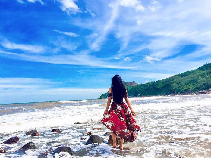 chụp ảnh đẹp ở Sầm Sơn