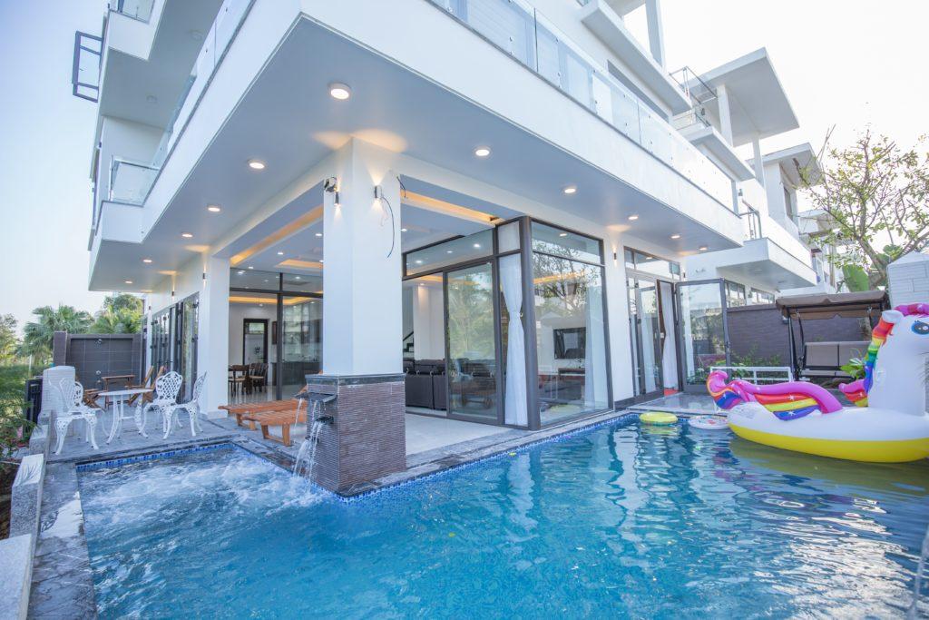 villa 6 ngủ có bể bơi