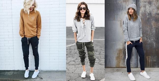 Áo tank-top, áo thun và quần joggers