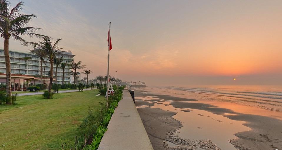 Bãi biển riêng của FLC Sầm Sơn