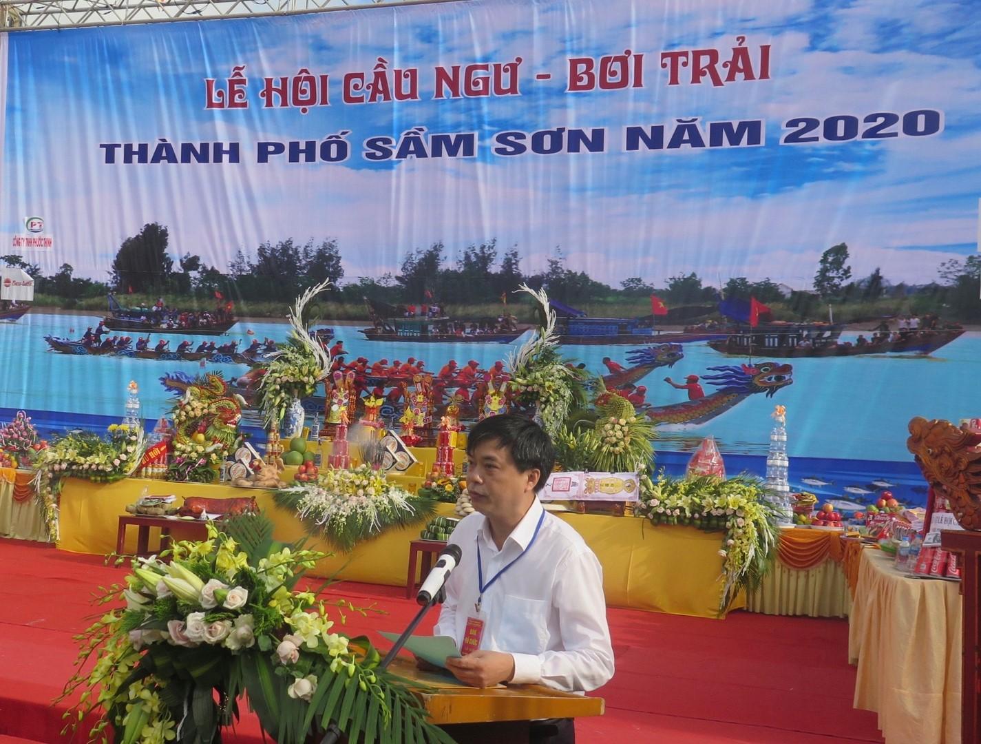 Lễ hội Cầu Ngư Bơi Chải