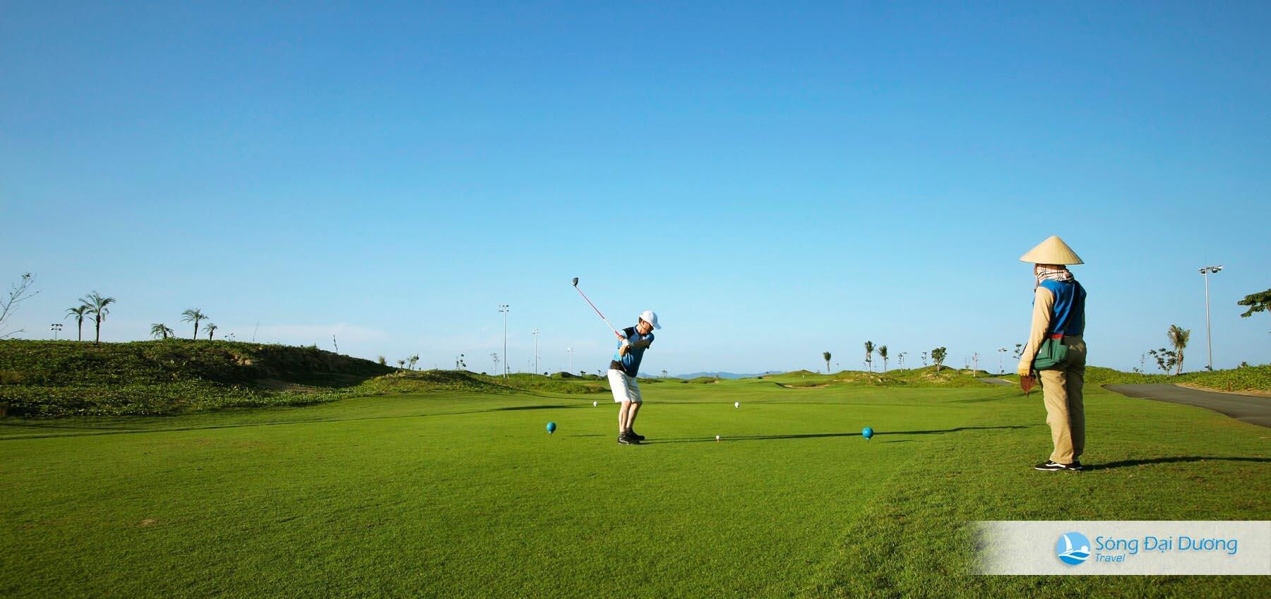 Sân Golf 18 lỗ dạng links Sầm Sơn