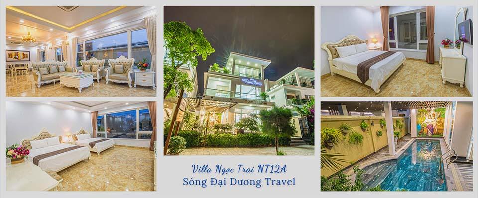 Villa FLC Sầm Sơn Ngọc Trai NT12A 6 phòng ngủ Full tiện ích
