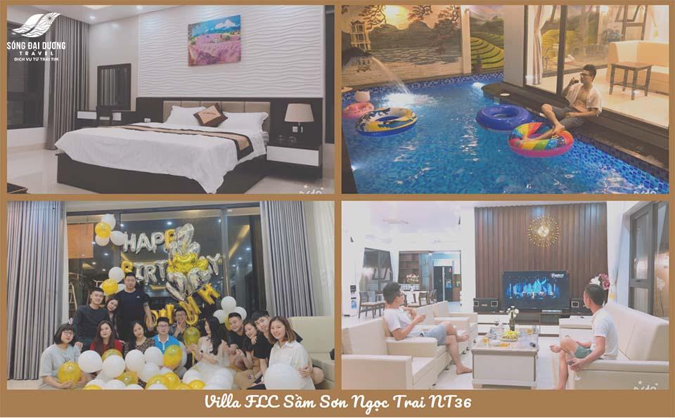 Biệt Thự FLC Sầm Sơn nổi bật - Biệt thự FLC Sầm Sơn Ngọc Trai NT36