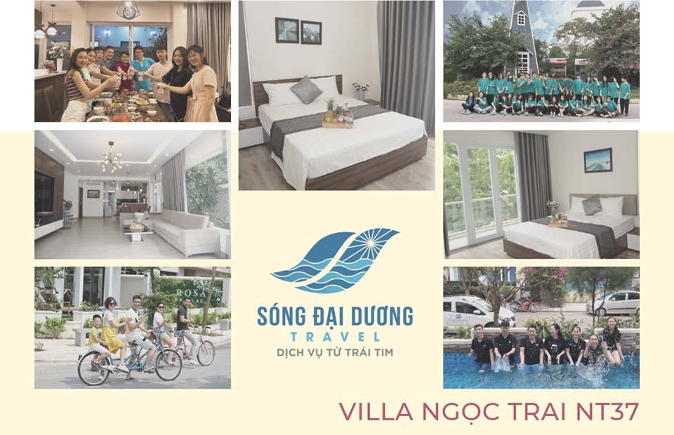 Villa FLC Sầm Sơn 8 phòng ngủ bể bơi full tiện ích