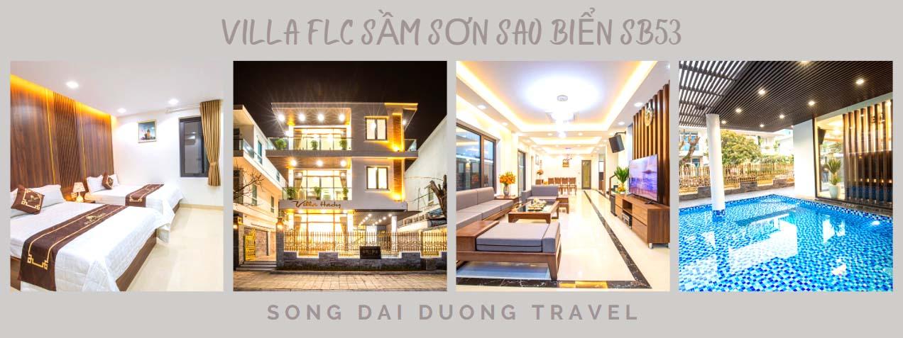 Villa FLC Sầm Sơn 8 phòng ngủ - Sao biển SB53