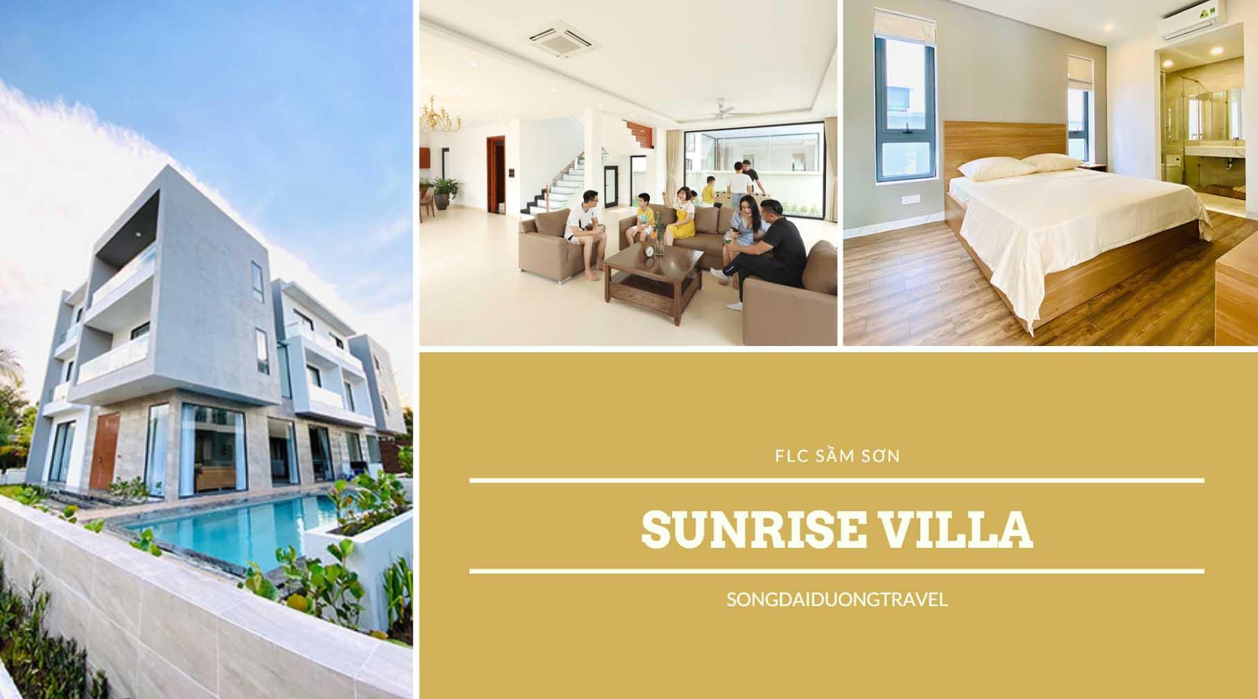 tiện ích cao cấp tại Villa Sunrise